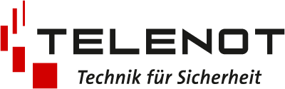 Logo Telenot - Technik für Sicherheit